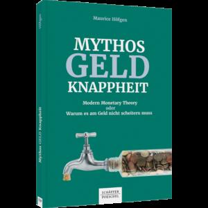 Abbildung Buchcover Mythos Geldknappheit