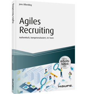 """Abbildung des Buchs """"Agiles Recruiting"""""""